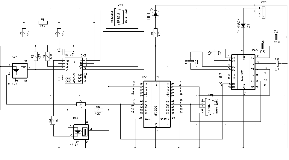 Preobrazovatel-RS232-RS485