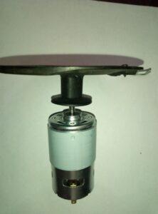 двигатель с диском